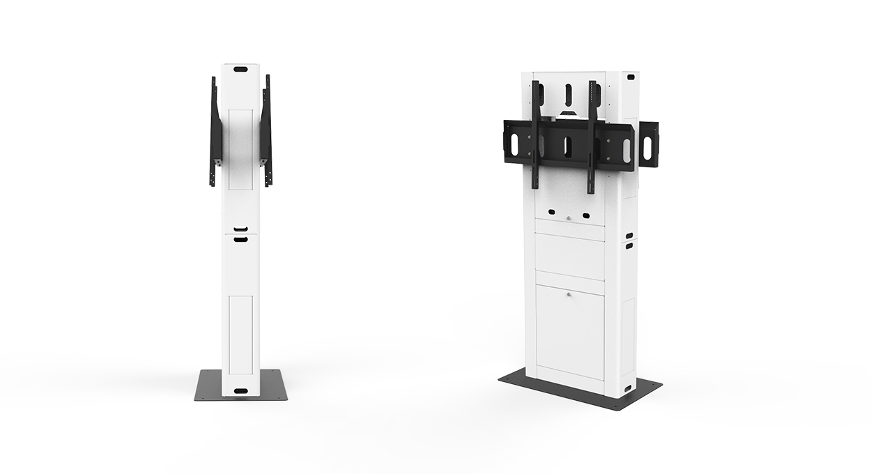 Totem AV Stand - Back to back no screen