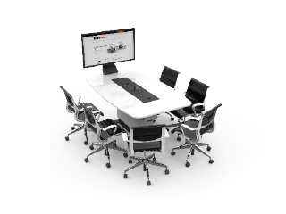 WorksZone Ellipse 6 Seat TechWell XL