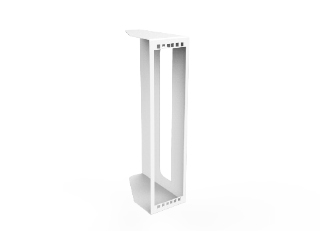 3U Educator Vertical Side Equipment Shelf