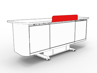 Air Podium Secrecy Shield