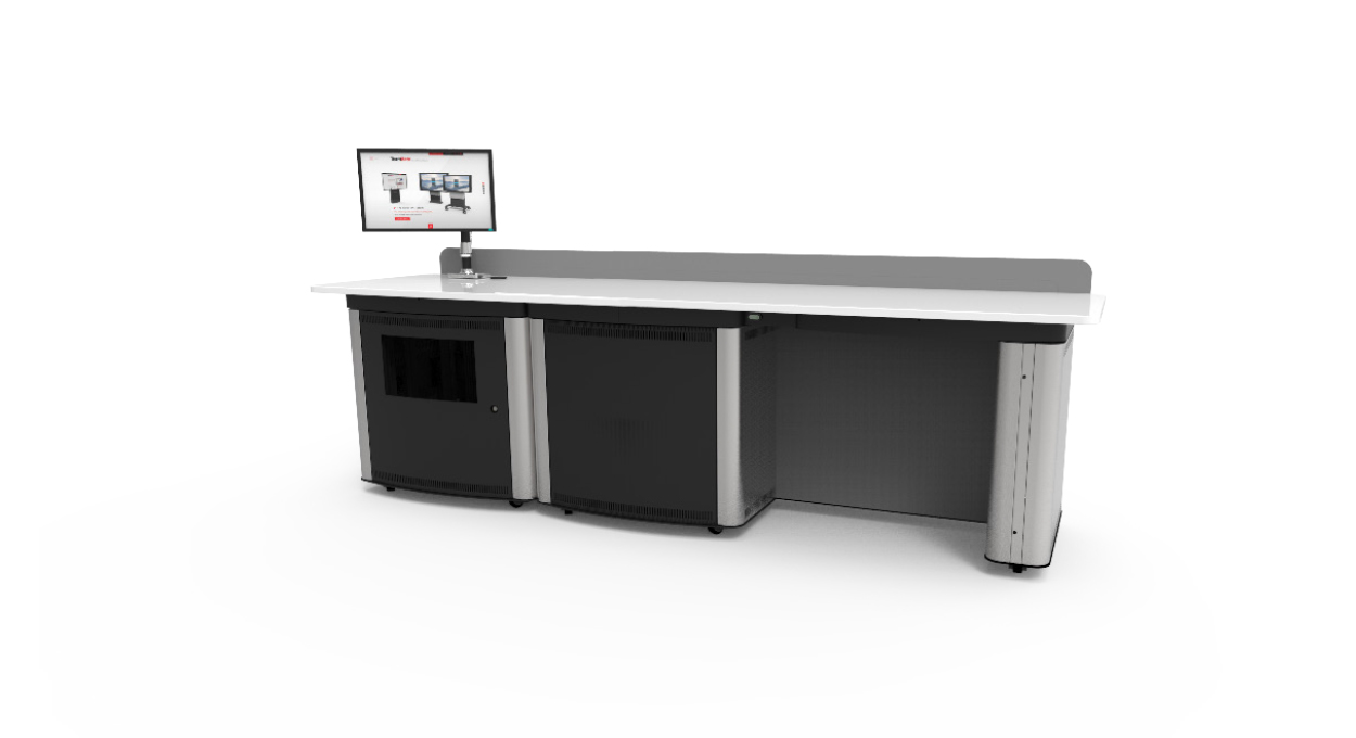 Educator Twin Desk Front