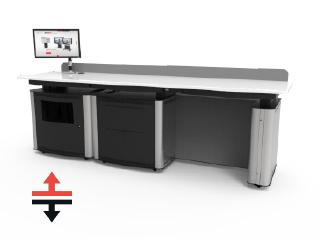 Educator Twin Desk VariHite
