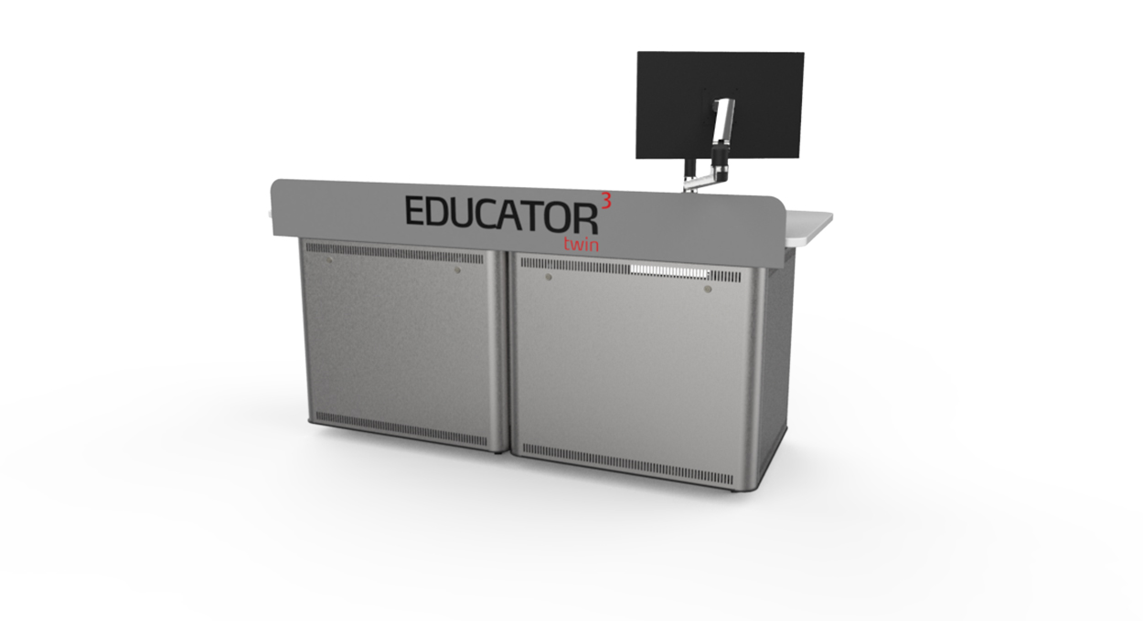 Educator Twin Fixed Height front