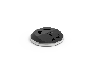 Power Puck with Twin USB Fast Charge
