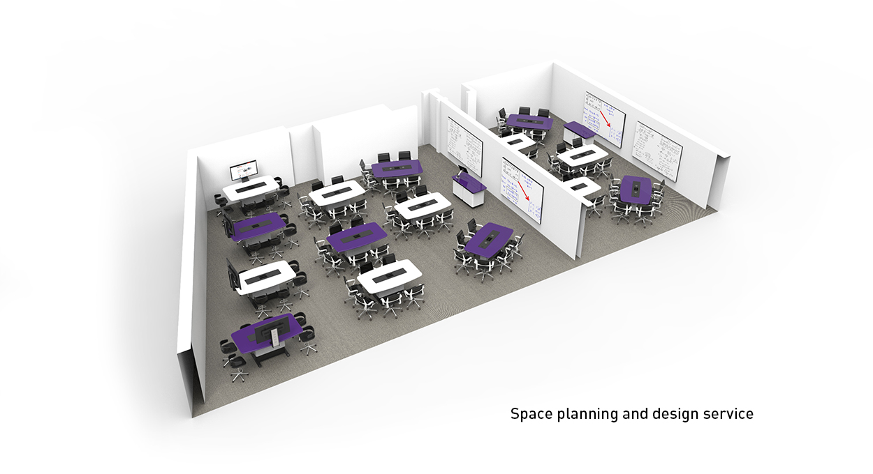 Space planning and design service