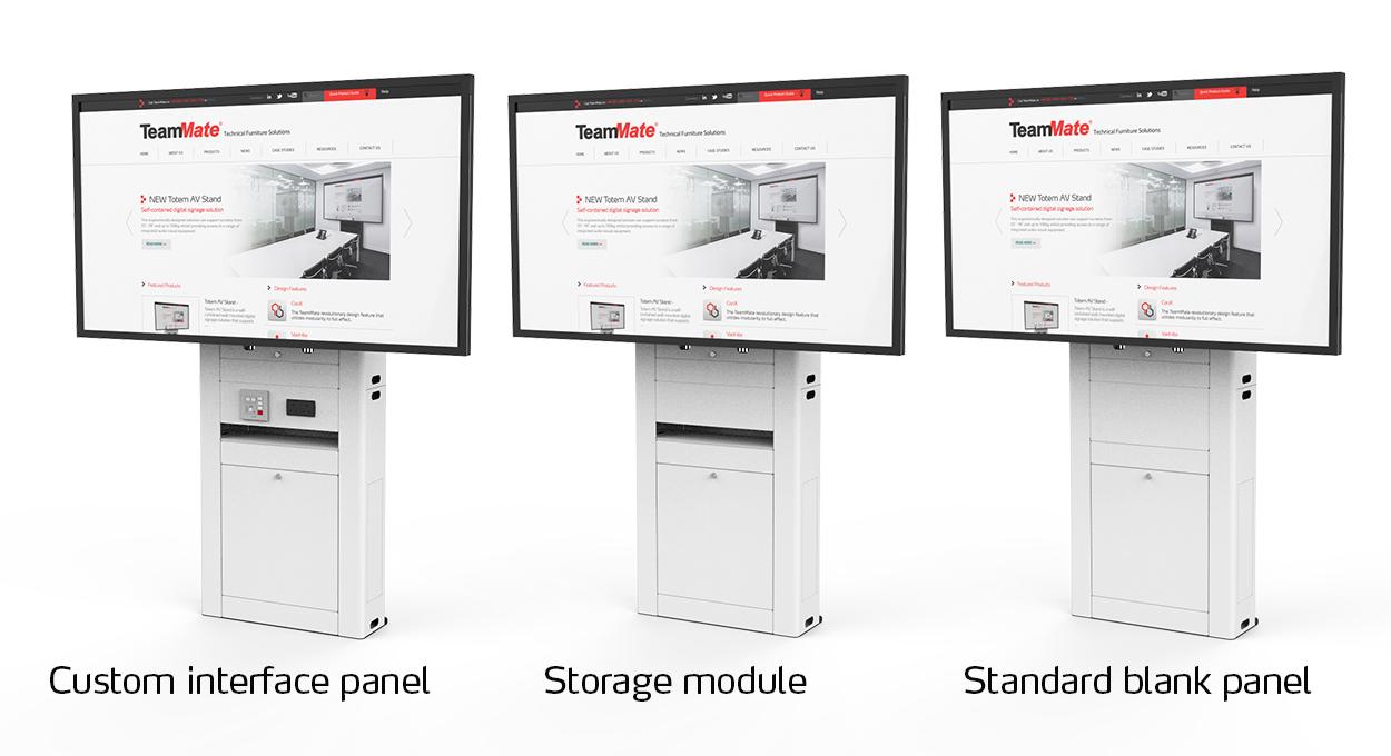 Totem AV Stand options