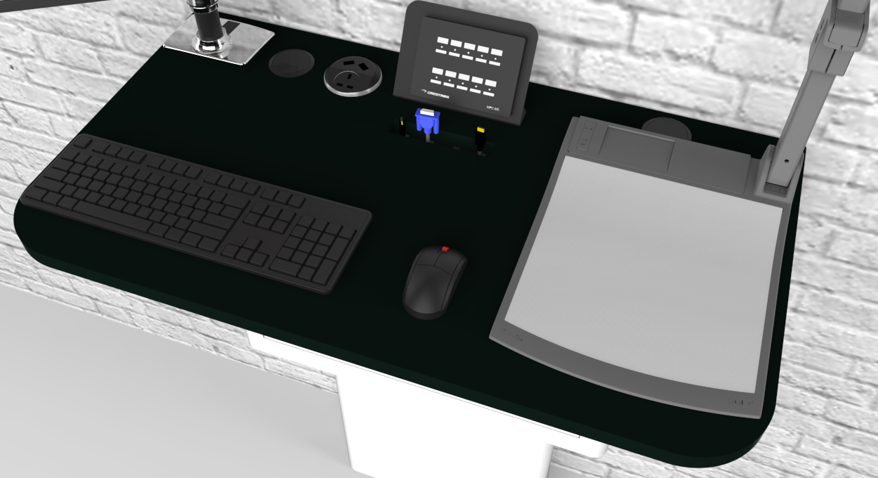 WallHub example worktop