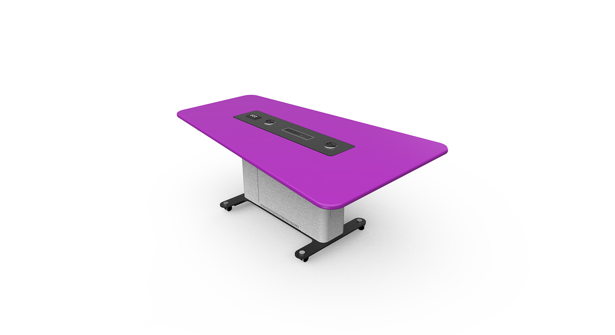 WorksZone Folding Table flat