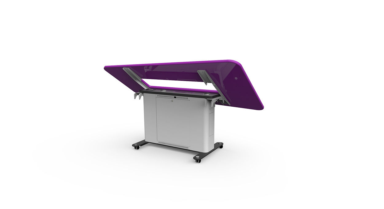 WorksZone Folding Table folding