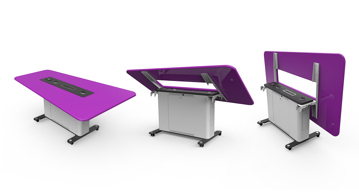 WorksZone Folding Table x3
