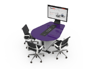 WorksZone Oval Table