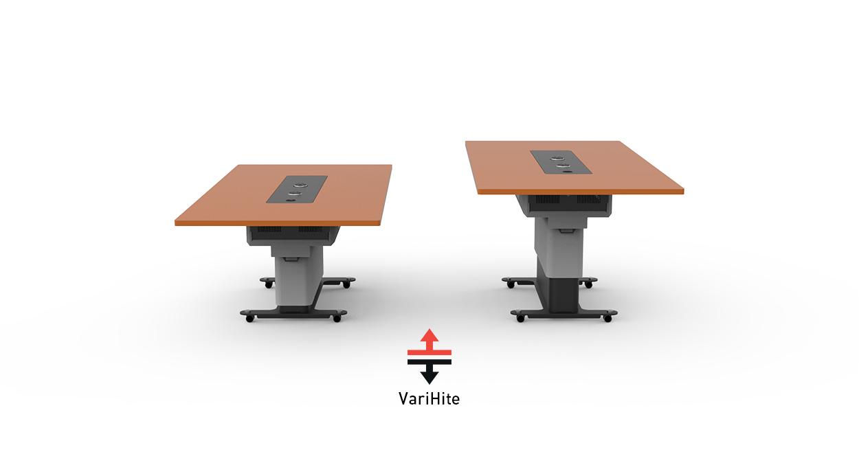WorksZone Rectangle Table VariHite