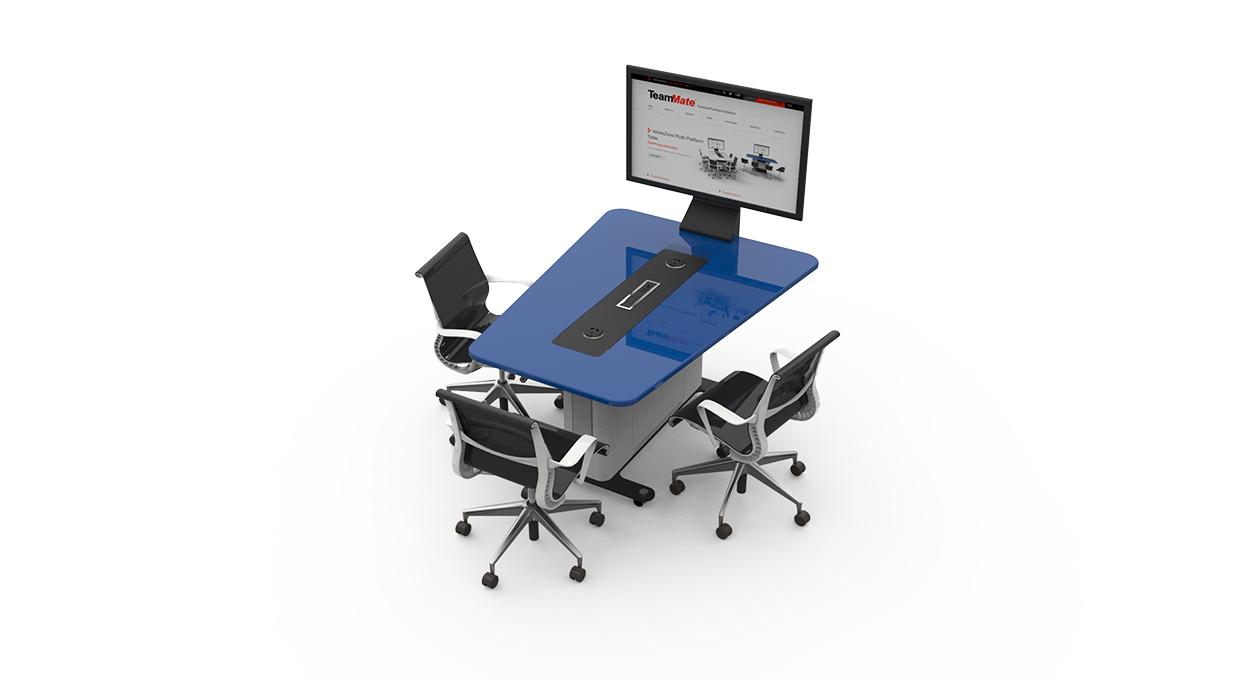 WorksZone Reverse Trapeze 3 seat