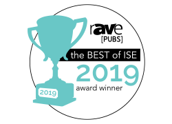 Rave Best of ISE logo website