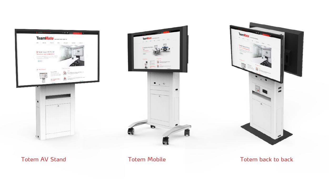 Totem AV Stand lineup