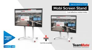 Mobi Screen Stand ISE 2020