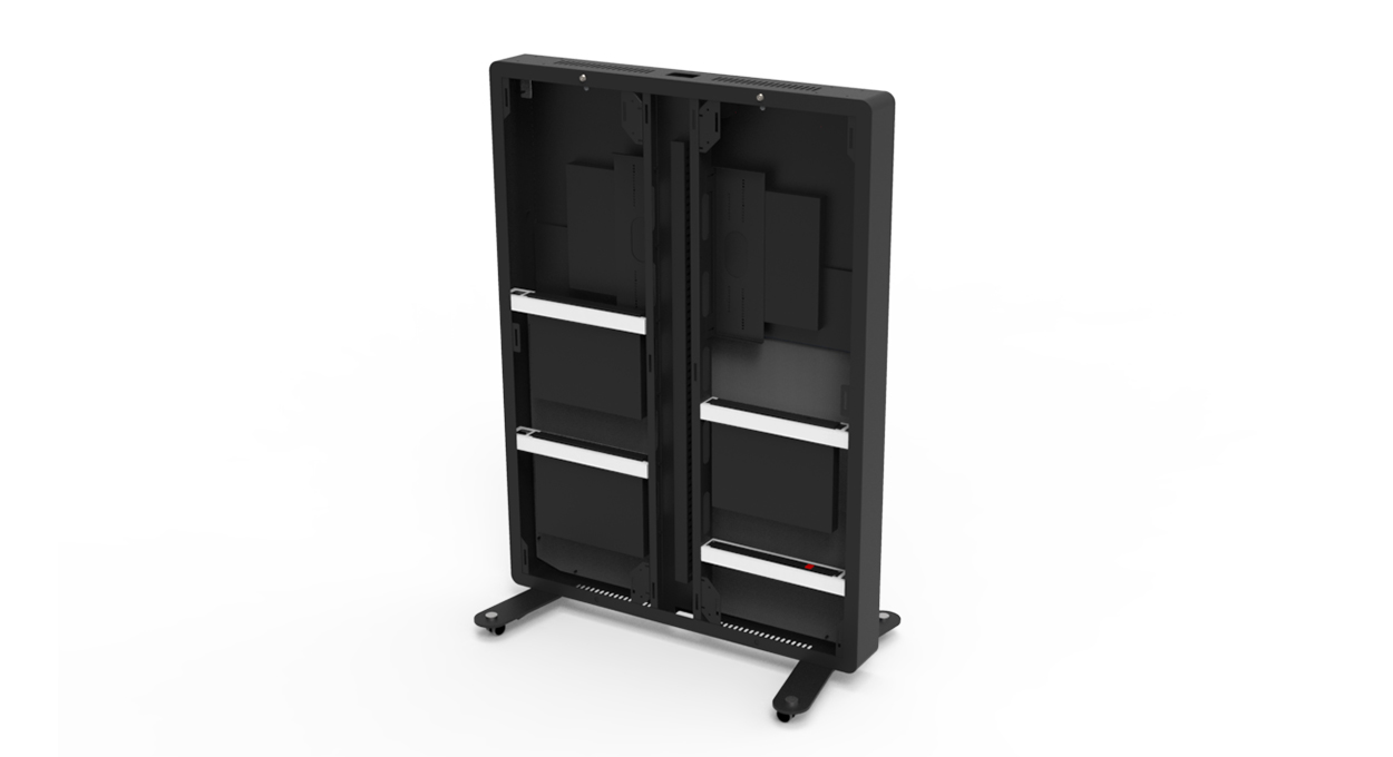 Virtual Wall Access Rack Mounting