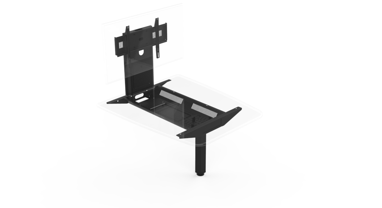 HuddleZone Cable Management Tray
